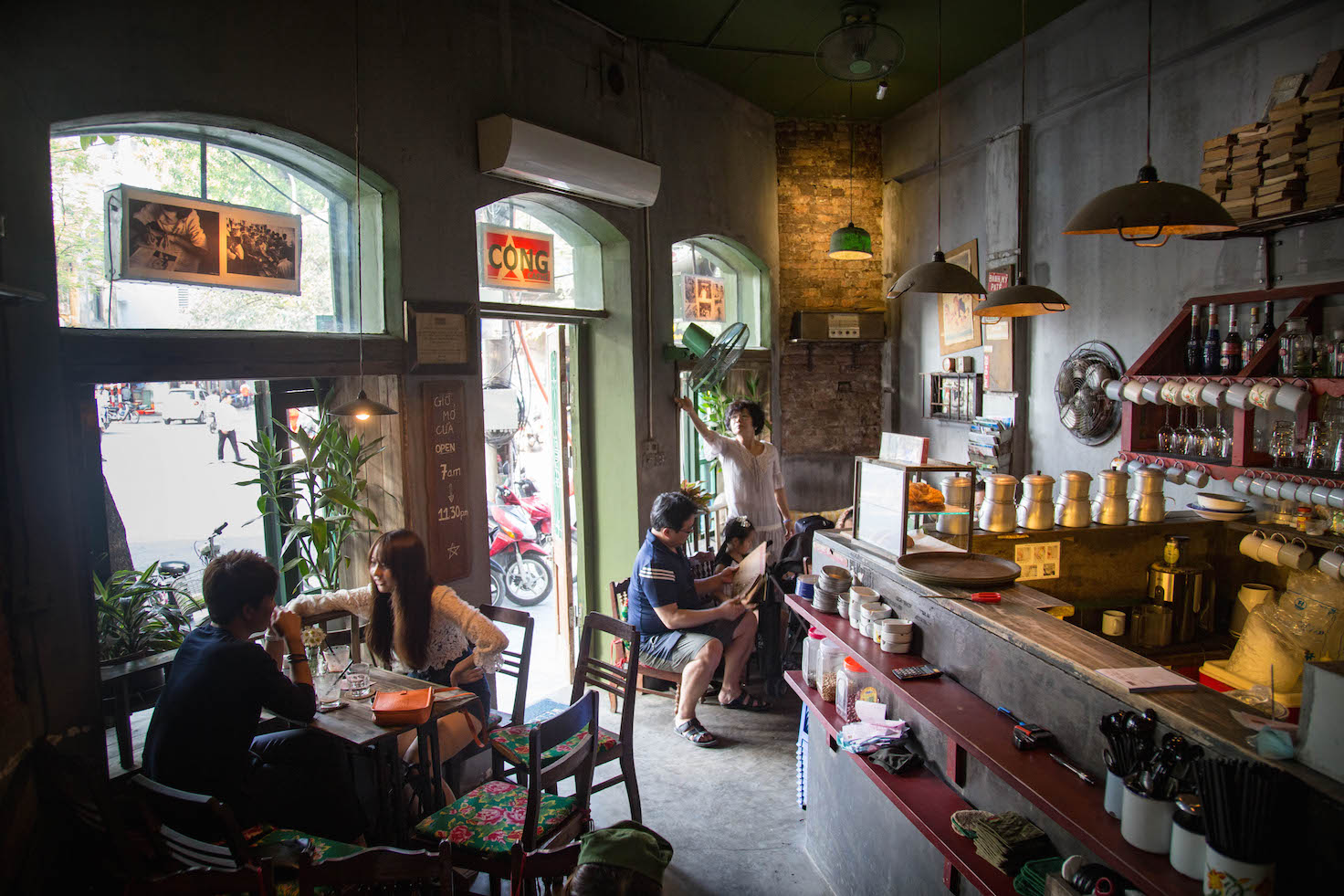 Hanoi-cong caphe