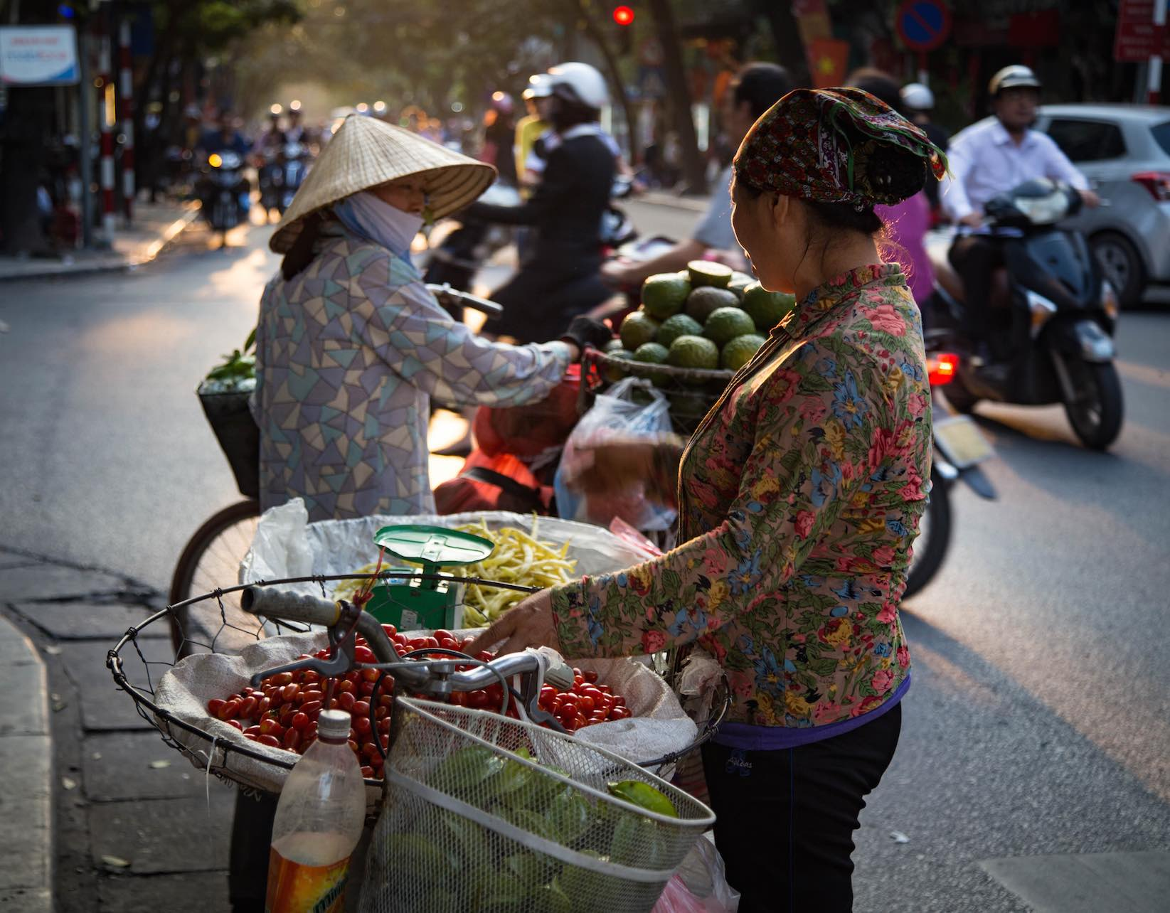 Hanoi-moments of yugen-Vietnamese woman