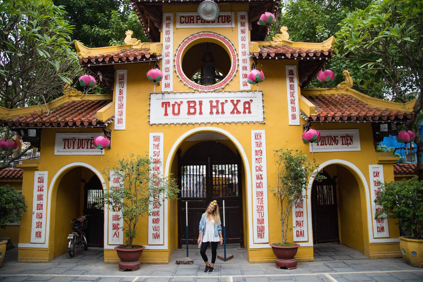 Hanoi-moments of yugen-pagoda