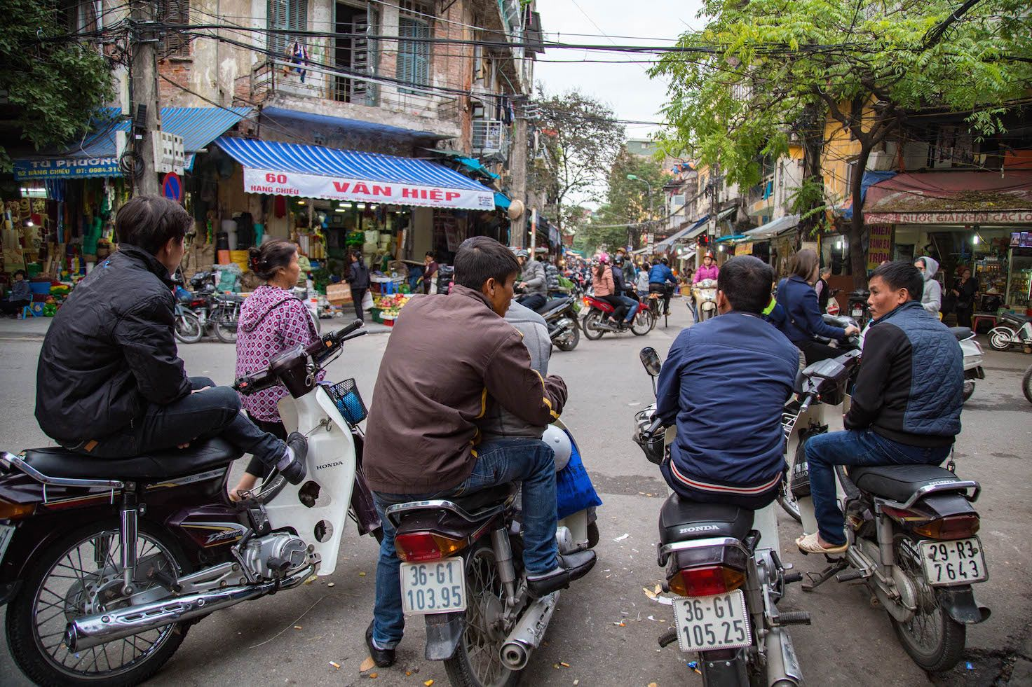Hanoi-moments of yugen-Old Quarter Motorbikes