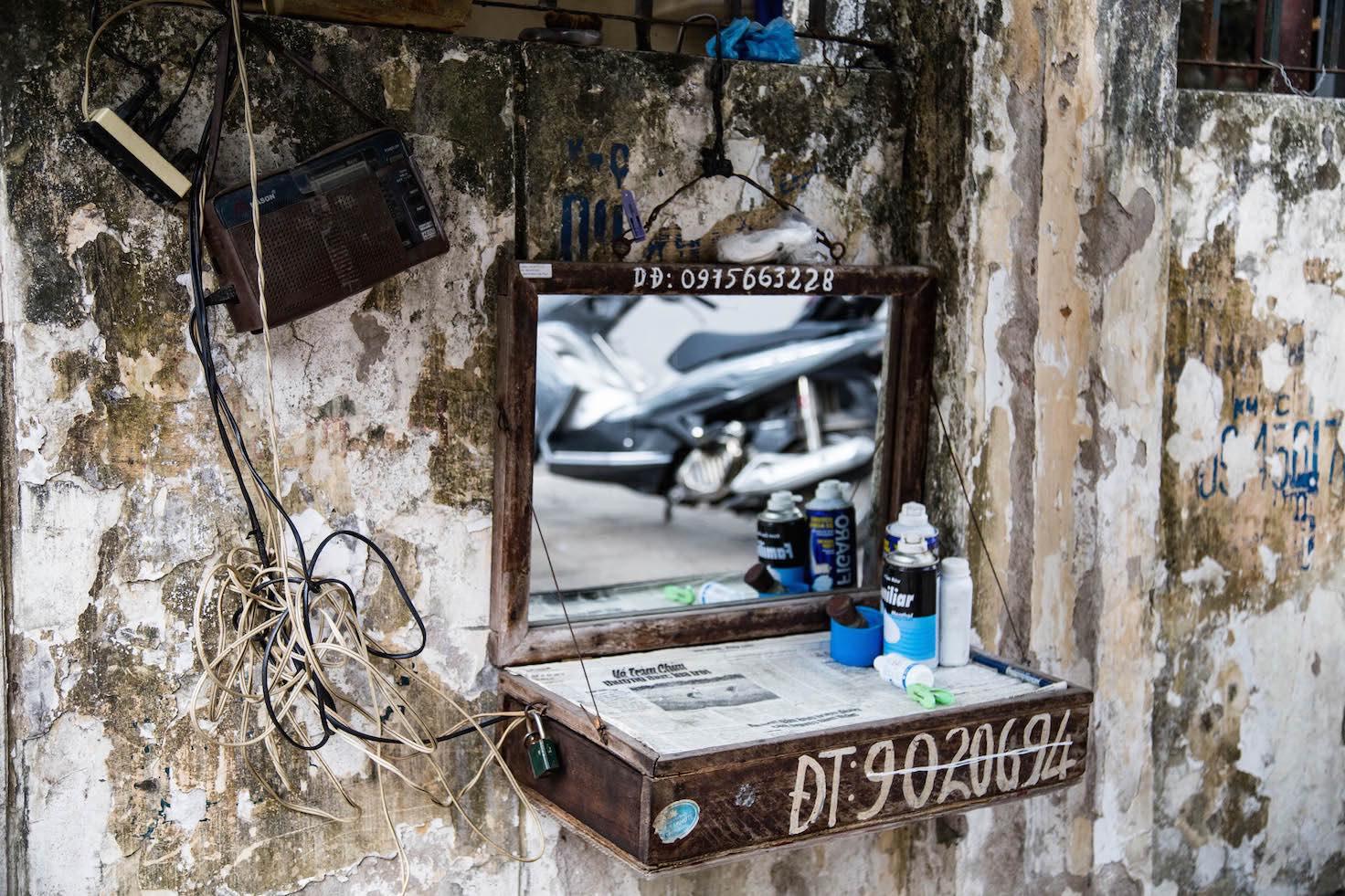 Hanoi-barber
