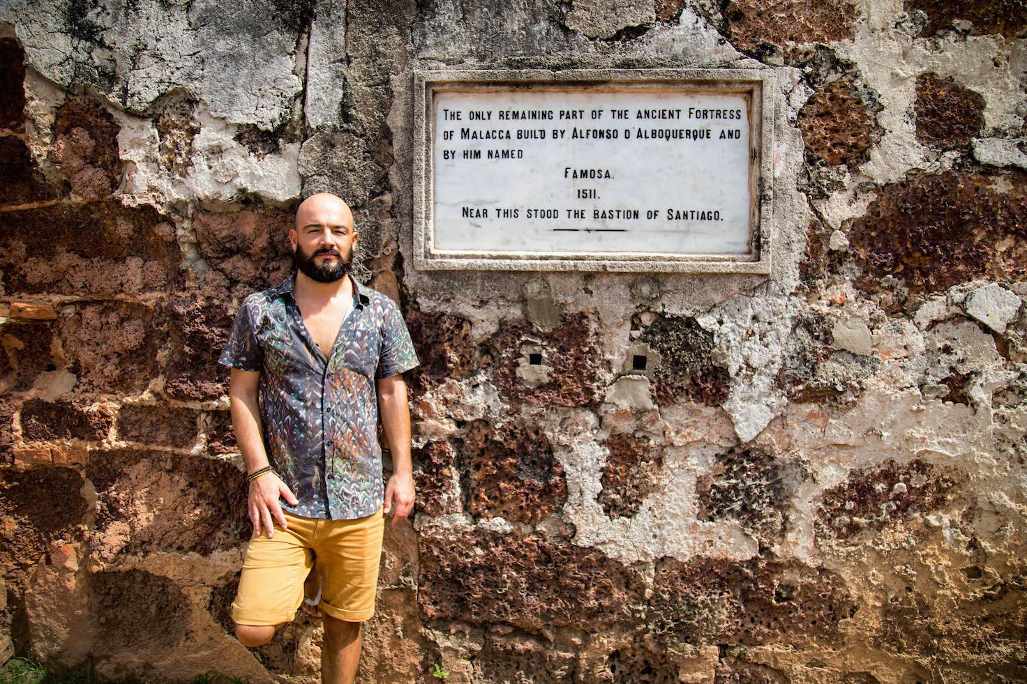 Malacca and its people-Famosa-momenst of yugen