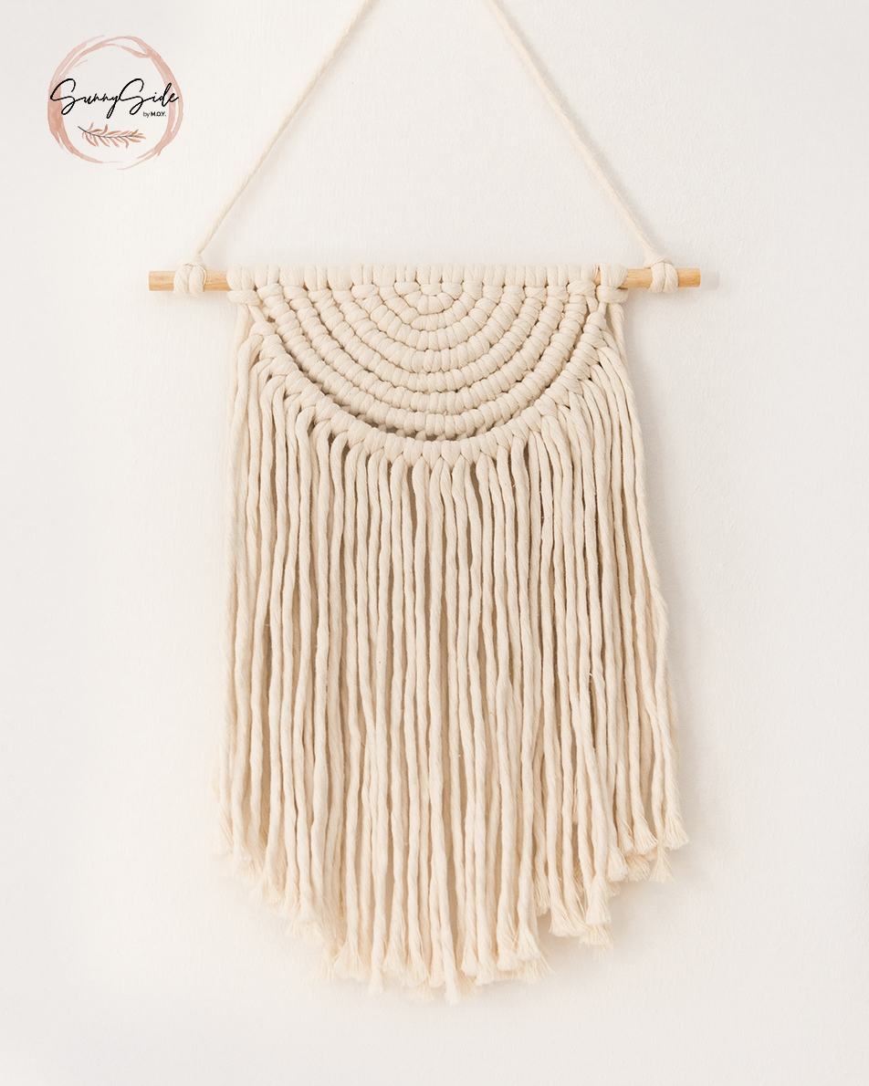 Half Circle Macrame Wall Hanging
