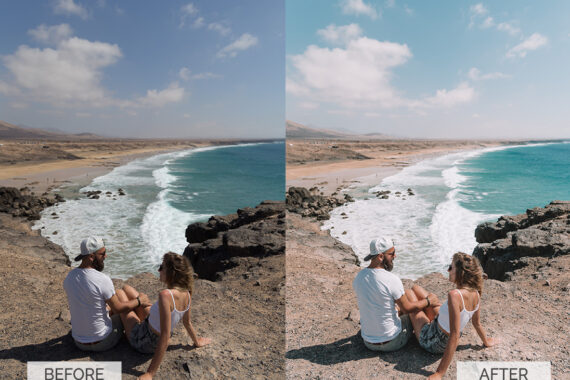 Before and after-Summer-20